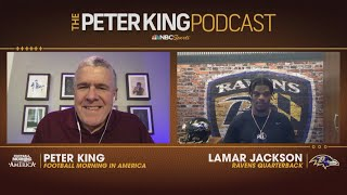 Ravens Lamar Jackson Shares Goals For 2020 (FULL INTERVIEW) | Peter King Podcast | NBC Sports