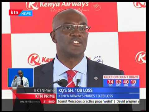 Kenya Airways experiences the beginning of doom as it reports a sh10 Billion loss