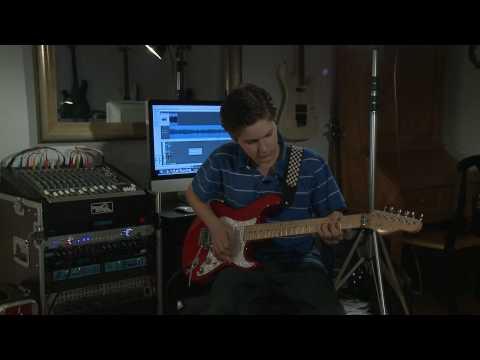 Canon Rock in D (age 14 - Satriani enthusiast)