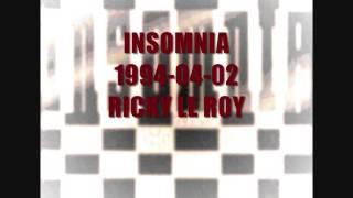 INSOMNIA 1994 04 02 RICKY LE ROY