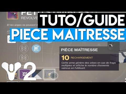 [DESTINY 2] COMMENT AVOIR DES PIÈCES MAÎTRESSE - TUTO MATRICE D'ARMES