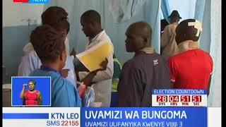 Watu sita wajeruhiwa kufuatilia uvamizi kaunti ya Bungoma