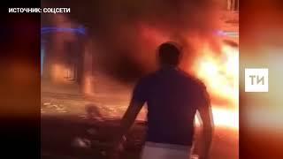 Появилось видео смертельной аварии на Кутузовском проспекте в Москве
