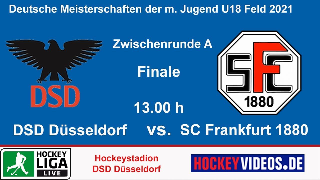 17.10.2021, 13:00 Uhr: U18-Deutsche Meisterschaft: DSD Düsseldorf vs. SC Frankfurt 1880
