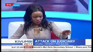 Uhuru Kenyatta's Presidential remarks to Judiciary after Supreme Court rules in Odinga's prefer