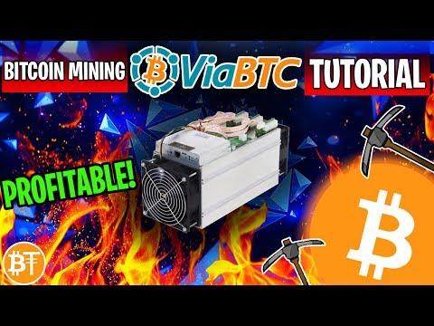 How To Start Mining Bitcoins On ViaBTC Mining Pool 2019 (🎉3 YEAR ANNIVERSARY)