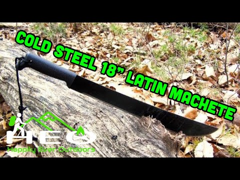 Cold Steel 18in Latin Machete Review
