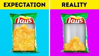 EXPECTATION VS REALITY  ||  FOOD FACTS DON