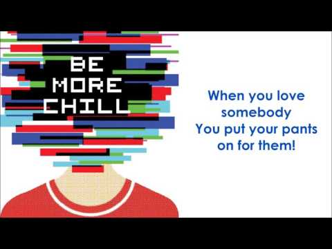 The Pants Song - BE MORE CHILL (LYRICS)