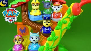 Paw Patrol Weebles Treehouse Playset Everest Animal Rescue Episode Funny Toy Story Videos for Kids