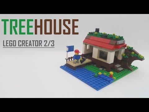 Vidéo LEGO Creator 31010 : La cabane dans l'arbre