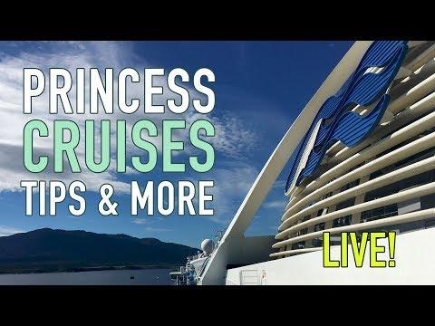 Princess Cruises Tips and Tricks - Livestream