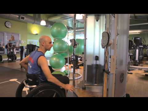 Disability Gym Workout - Cable and Pulley Machines | The Active Hands Company