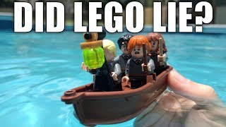 Does The LEGO Harry Potter Boat Float? LEGO Doesn