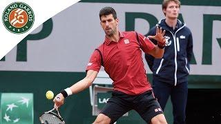Novak Djokovic V Roberto Bautista Agut Highlights - Men's Round 4 2016 - Roland Garros