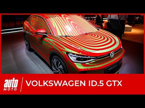 Volkswagen ID5 : découverte au salon de Munich