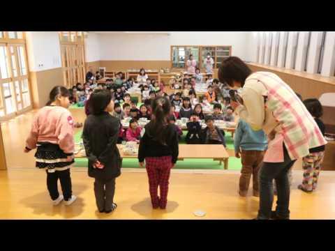 みなみ保育園 平成27年度 1月誕生日会食会