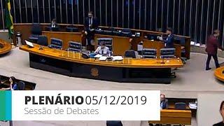 Plenário - Sessão de debates - 05/12/2019 14:00