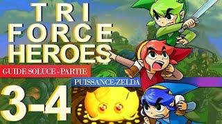 Soluce Tri Force Heroes : Niveau 3-4