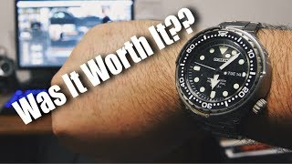 I Spent Over $1,000 On A Quartz Watch