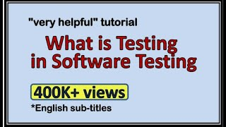 Software Testing Introduction - What is it? Why test?