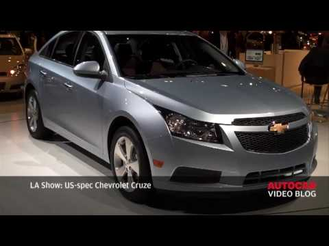 LA Motor Show: Chevrolet Cruze by autocar.co.uk