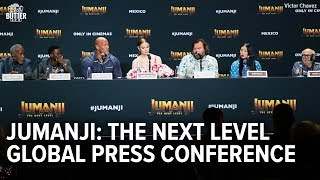 Jumanji: The Next Level | Global Press Conference | Extra Butter