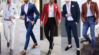 Trendy Party Wear Suits Colors || 20 Ways To Style Coat Pant Design For Men || Men Fashion 2021