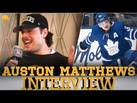 Spittin' Chiclets Interviews Auston Matthews - Full Interview