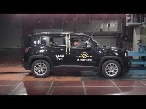 Euro NCAP Crash & Safety Tests of Jeep Renegade 2019