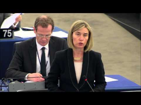 Colombian peace process - Opening Statement by Federica Mogherini at EP Plenary session