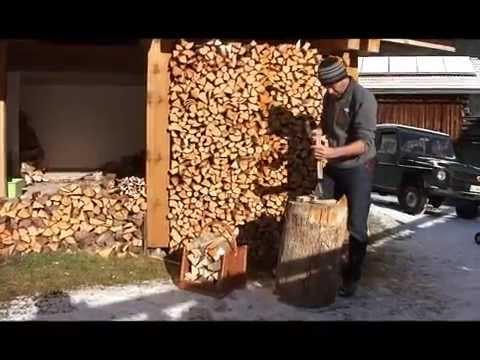 Anfeuerholz selber machen