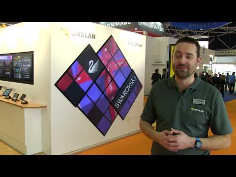CORIOmaster on the ONELAN Booth at ISE 2019