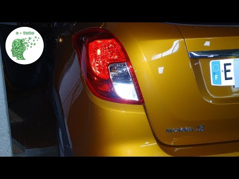 Changer ampoules feu arrière Opel Mokka X.