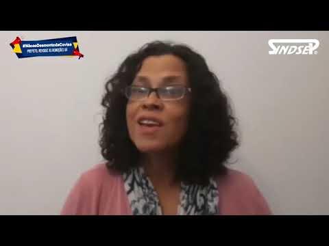 Silvana, professora aposentada, fala sobre o desmonte da Covisa