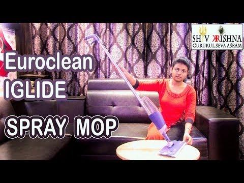 Euroclean iGlide, Aluminum,Spray Mop