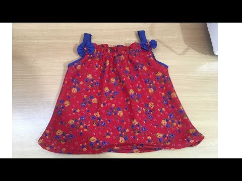 How to sew a baby jabla frock cutting and stitching