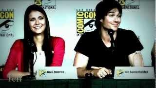 Нина Добрев и Йен Сомерхолдер, ♥ Ian & Nina    Shine(ComicCon2012)♥