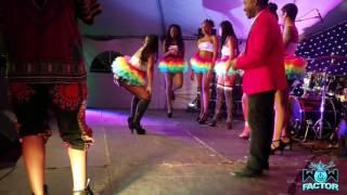 Majah Hype Convinces Promo Girls to Do a DANCEOFF in Antigua!