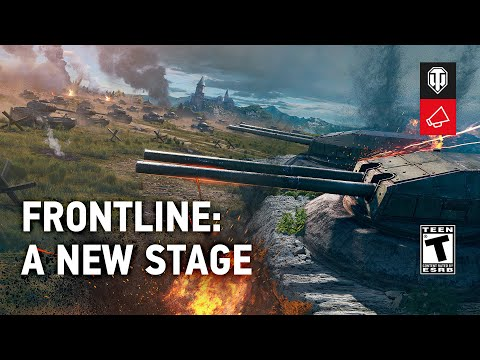 Frontline: What's New and What Are the Rewards? [World of Tanks]