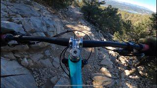Cougar Crest trail down on a mountain Bike!