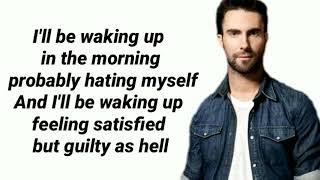 Maroon 5   One More Night (Lyrics Video) 🎵
