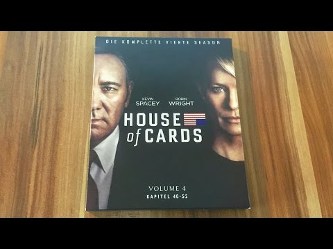 HOUSE OF CARDS - STAFFEL 4 - Blu-ray Unboxing [UHD]