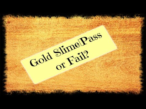 Gold Slime|Pass or Fail?