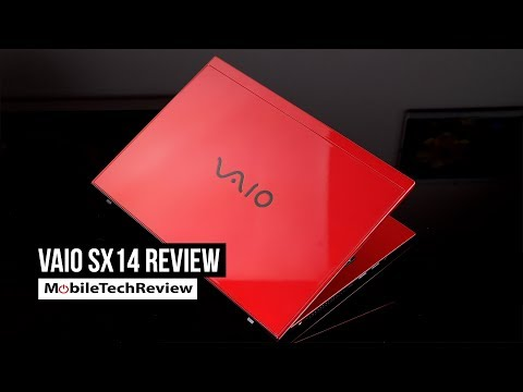 Vaio SX14 Laptop Review