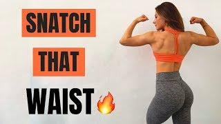 Let's SNATCH THAT WAIST & SCULPT THAT BACK | Full Workout