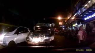 Anti Counterflow Video Against A Jeepney