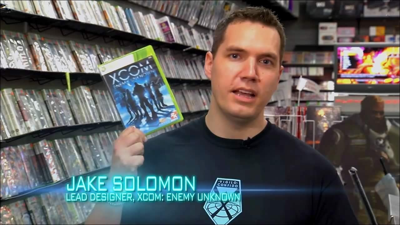 Watch The Designer Of XCOM Try To Sell It At A Game Store, Fail