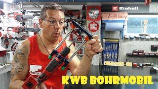 KWB Bohrmobil mit EINHELL Akku Schlagbohrmaschine TC-ID 18 Li #einhellharry #kwb #einhell_ag