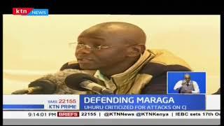 President Uhuru Kenyatta continues to get a backlash from civil societies on CJ Maraga's utterances